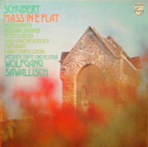 Schubert* - Radio Chorus, Leipzig*, Dresden State Orchestra*, Wolfgang Sawallisch - Mass In E Flat (LP)