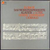 Johann Sebastian Bach, Gustav Leonhardt - Das Wohltemperierte Klavier, 1.+2. Teil (Box + 5xLP)
