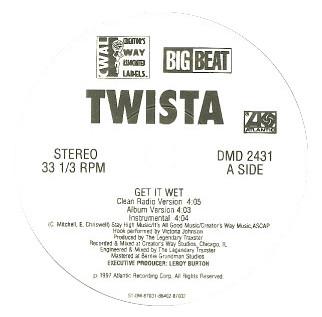 """Twista - Get It Wet / Mobster's Anthem (12"""", Promo)"""