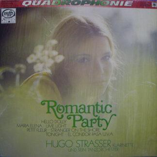 Hugo Strasser Und Sein Tanzorchester - Romantic Party (LP, Quad)