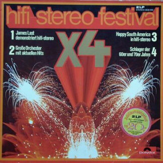 Various - Hifi Stereo Festival X4 (2xLP, Comp, P/Mixed)
