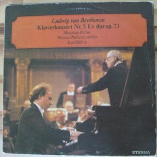 Ludwig van Beethoven, Maurizio Pollini, Wiener Philharmoniker, Karl Böhm - Klavierkonzert Nr. 5 Es-dur Op.73 (LP, Bla)