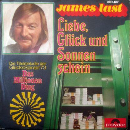 """James Last - Liebe, Glück Und Sonnenschein (7"""", Single)"""