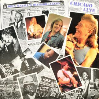 John Mayall's Bluesbreakers* - Chicago Line (LP, Album, Gat)