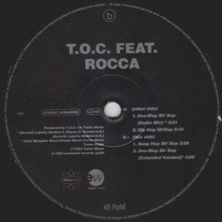 """T.O.C. Feat. Rocca - Doo-Wop Sh' Bop (12"""")"""