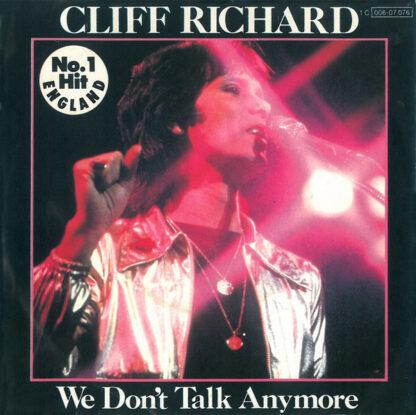 "Cliff Richard - We Don't Talk Anymore (7"", Single)"