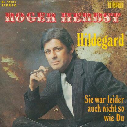 """Roger Herbst - Hildegard (7"""", Single)"""