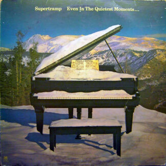 Supertramp - Even In The Quietest Moments... (LP, Album)