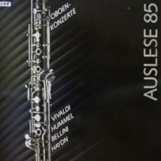 Vivaldi*, Hummel*, Bellini*, Haydn*, Burkhard Glaetzner - Oboenkonzerte (Auslese 85) (LP)
