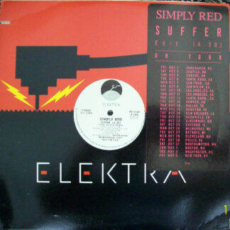 """Simply Red - Suffer (12"""", Promo)"""