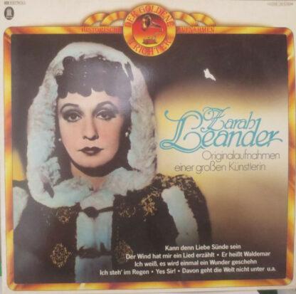 Zarah Leander - Originalaufnahmen Einer Großen Künstlerin (LP, Comp)
