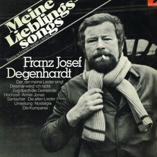 Franz Josef Degenhardt - Meine Lieblingssongs (Seine Schönen Leisen Lieder) (LP, Comp)