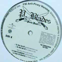 "P. Blades* - Porto Rock (12"", Promo)"
