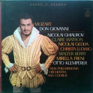 Mozart* - New Philharmonia Orchestra, Otto Klemperer - Don Giovanni (4xLP, Album)