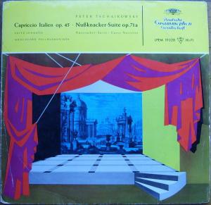 Peter Tschaikowsky* / Fritz Lehmann, Münchener Philharmoniker* - Capriccio Italien  Op. 45 · Nußknacker-Suite, Op. 71a (LP, Mono, RE)