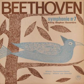 Beethoven*, Wiener Festspielorchester, Willem Van Otterloo - Symphonie Nr. 7 / König Stephan Ouvertüre (LP)