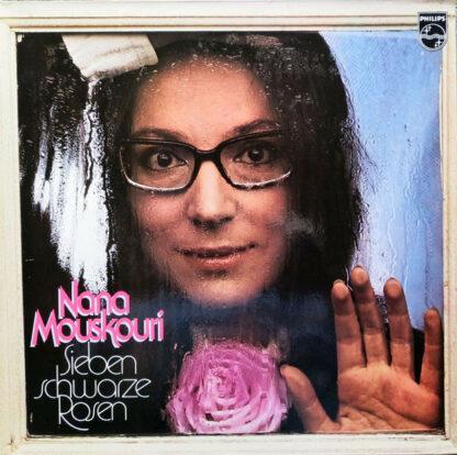 Nana Mouskouri - Sieben Schwarze Rosen (LP, Album, Gat)