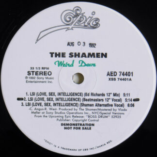"The Shamen - LSI (Love, Sex, Intelligence) (12"", Promo)"