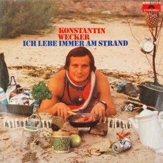 Konstantin Wecker - Ich Lebe Immer Am Strand (LP, Album)