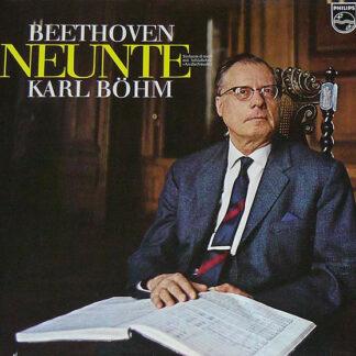 """Beethoven*, Karl Böhm - Neunte Sinfonie D-Moll Mit Schlußchor """"An Die Freude"""" (LP, Album, Gat)"""
