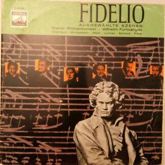 Wilhelm Furtwängler, Ludwig van Beethoven - Fidelio (Ausgewählte Szenen) (LP, Mono)
