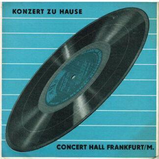 "Various - Konzert Zu Hause (10"", Mono, Gat)"