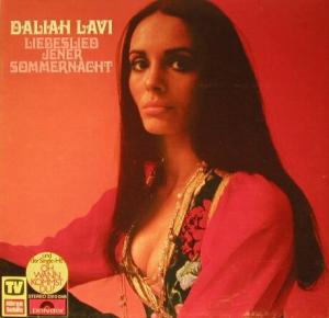Daliah Lavi - Liebeslied Jener Sommernacht (LP, Album)