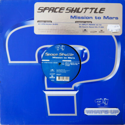 """Space Shuttle - Mission To Mars (12"""")"""