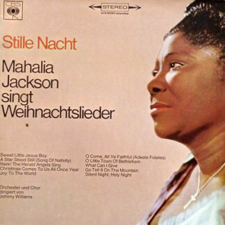 Mahalia Jackson - Stille Nacht - Mahalia Jackson Singt Weihnachtslieder / Silent Night  Songs For Christmas (LP, Album)