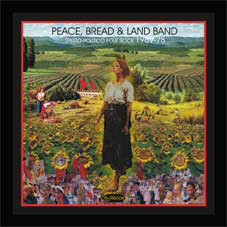 Peace, Bread & Land Band - Spirito - Politico Folk Rock 1969-78 (LP, Comp)