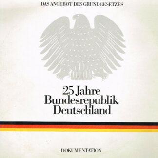 No Artist - 25 Jahre Bundesrepublik Deutschland - Dokumentation (2xLP)