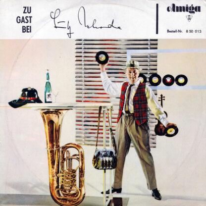 Lutz Jahoda - Zu Gast Bei Lutz Jahoda (LP, Album, Mono)