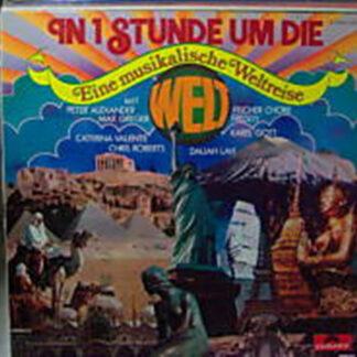 Various - In 1 Stunde Um Die Welt - Eine Musikalische Weltreise (LP, Comp, Club, S/Edition)
