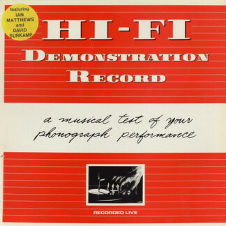 "Hi-Fi (2) - Demonstration Record (12"", MiniAlbum)"