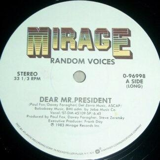 """Random Voices - Dear Mr. President (12"""")"""