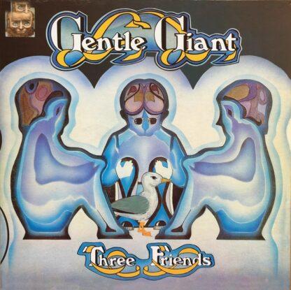 Gentle Giant - Three Friends (LP, Album, Ltd, RE, Gat)