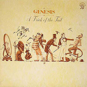Genesis - A Trick Of The Tail (LP, Album, RE, Gat)