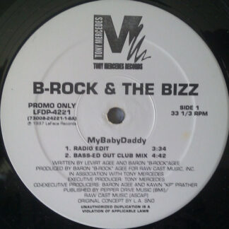 "B-Rock & The Bizz - MyBabyDaddy (12"", Promo)"