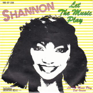 """Shannon - Let The Music Play (7"""", Single)"""