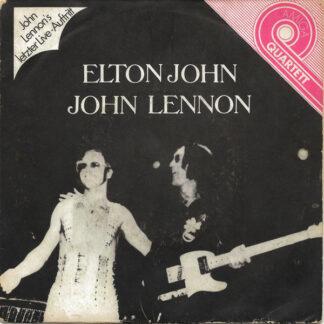 """Elton John, John Lennon - Elton John / John Lennon (7"""", EP, Dar)"""
