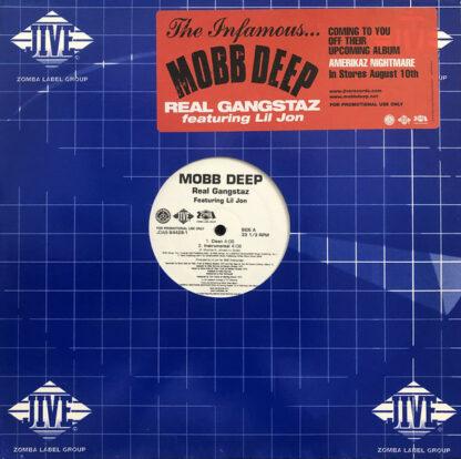 "Mobb Deep - Real Gangstaz (12"", Promo)"