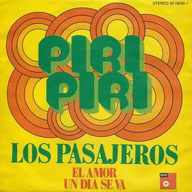 """Los Pasajeros - Piri Piri (7"""")"""