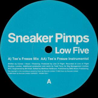 """Sneaker Pimps - Low Five (12"""", Promo, Par)"""