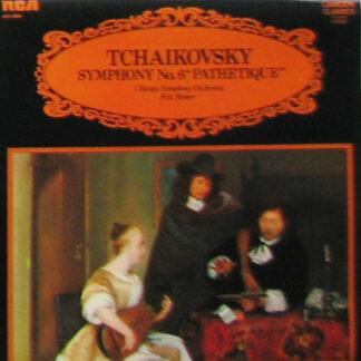 """Chicago Symphony Orchestra*, Fritz Reiner - Tchaikovsky* - Symphony No. 6 """"Pathétique"""" (LP, Album, RE)"""