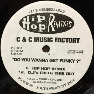 """C & C Music Factory* / Monica - Do You Wanna Get Funky ? / Don't Take It Personal (12"""", Unofficial)"""