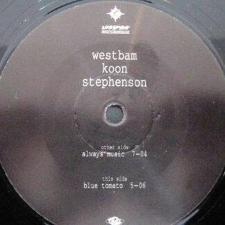 "Westbam / Koon / Stephenson* - Always Music (12"")"