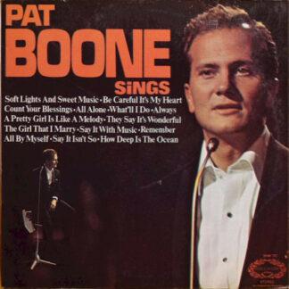 Pat Boone - Pat Boone Sings (LP, Album, RE)