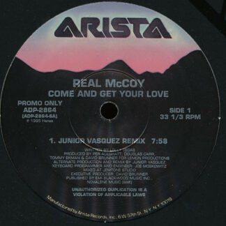 """Real McCoy - Come And Get Your Love (12"""", Promo)"""