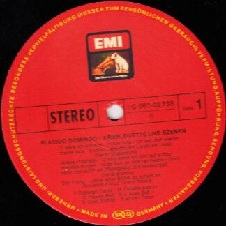 Placido Domingo - Arien, Duette Und Szenen (LP, Comp)