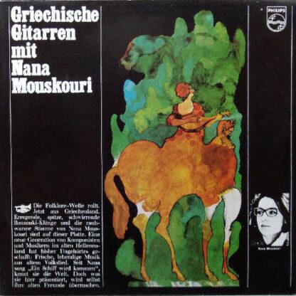 Nana Mouskouri - Griechische Gitarren Mit Nana Mouskouri (LP, Album)